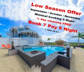 Villa Royale Aruba Rental Swimmingpool Discount Promotion