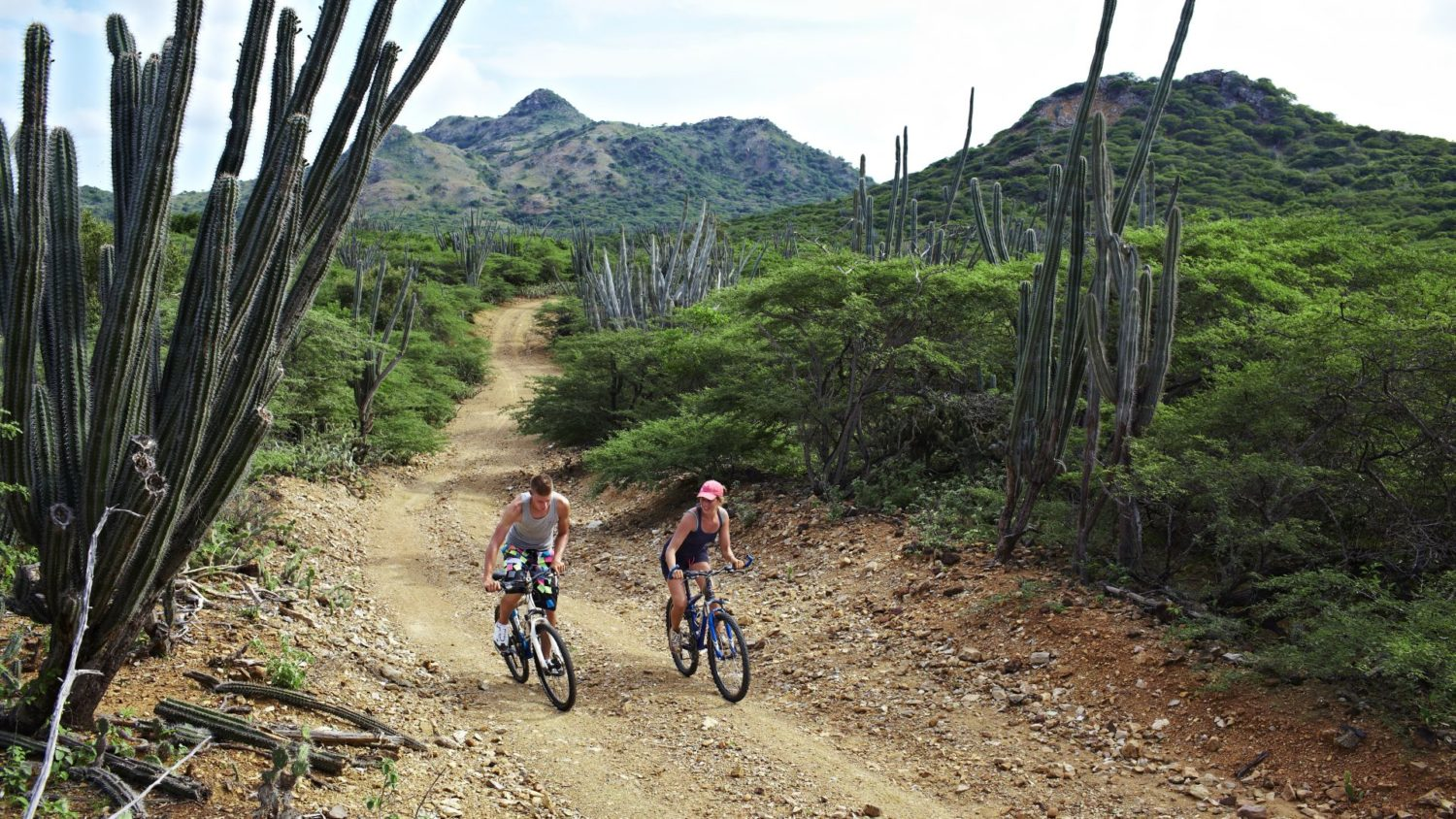 Mountainbike Fietsen Bicycle Bonaire
