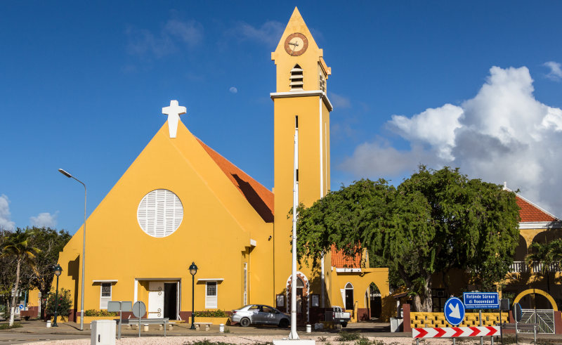The Church Of St. Bernard Kralendijk Bonaire Ruben M Ramos