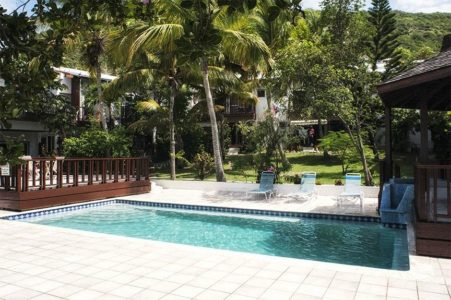 Sint Maarten Studio Apartment Swimming Pool Rental (15)