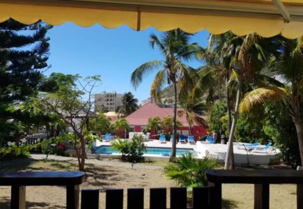 Sint Maarten Studio Apartment Swimming Pool Rental (2)