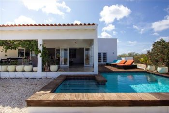 Villa Huren Bonaire Zwembad Sabal Palm Vacation Rental (8)